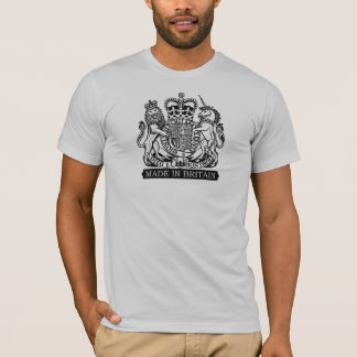 'Made in Britain'-black T-Shirt