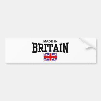 Made In Britain Bumper Sticker