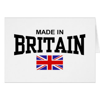 Made In Britain Cards