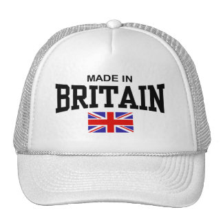 Made In Britain Mesh Hats