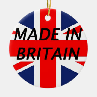 Made in Britain Christmas Tree Ornament
