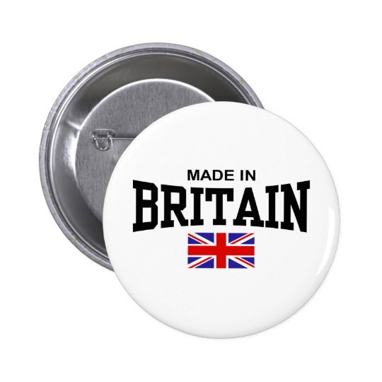Made In Britain Pinback Button