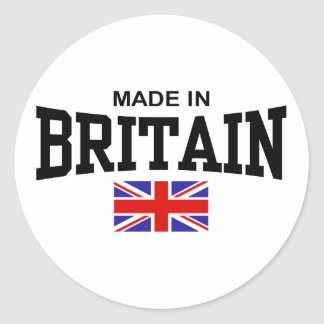 Made In Britain Stickers