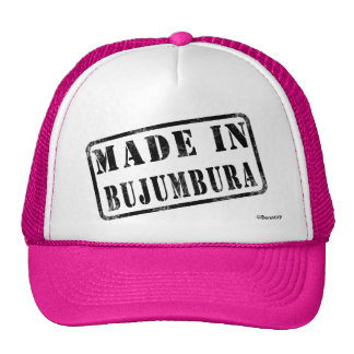 Made in Bujumbura Trucker Hats