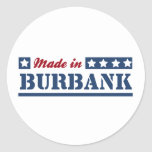 Made in Burbank Classic Round Sticker