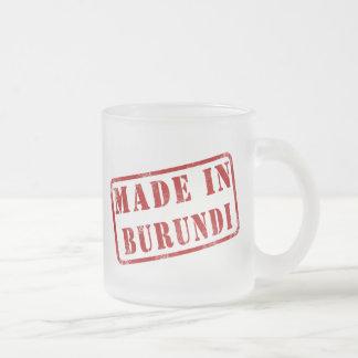 Made in Burundi Mug