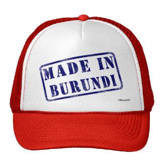 Made in Burundi Trucker Hats