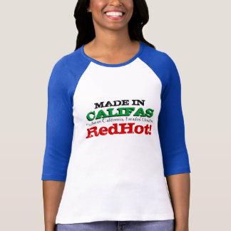 MADE IN CALIFAS LADIES 3/4 SLEEVE RAGLAN T-Shirt