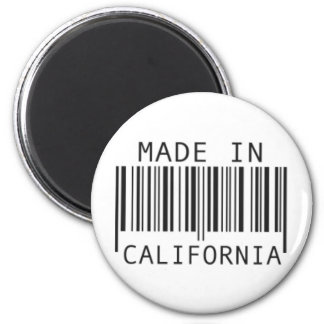 Made in California 2 Inch Round Magnet