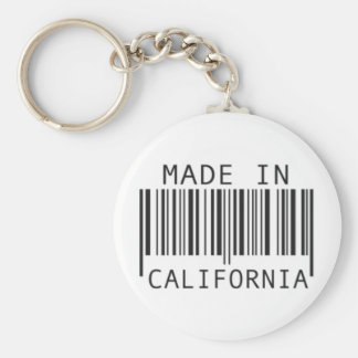 Made in California Keychain
