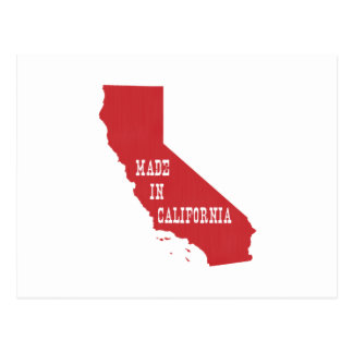 Made In California Postcard