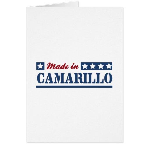 Made in Camarillo Greeting Card