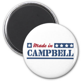 Made in Campbell 2 Inch Round Magnet