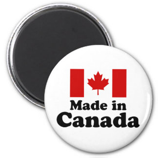 Made in Canada 2 Inch Round Magnet