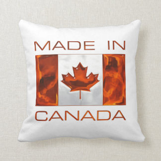 MADE IN CANADA 3D Leaf & Flag Pillows