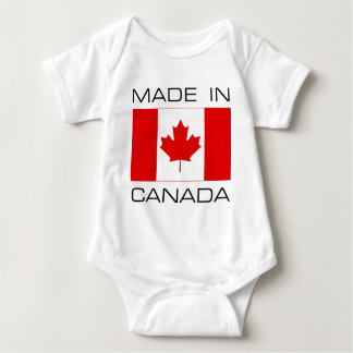 Made In Canada Baby Bodysuit