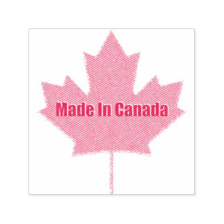 Made in Canada Custom Stamp