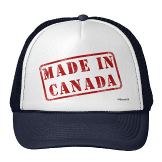 Made in Canada Hats
