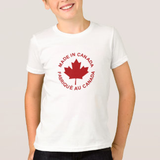 Made In Canada Kids T-shirt