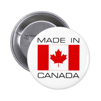 Made In Canada Pinback Button