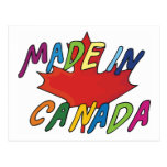 Made In Canada Postcard