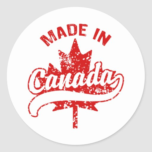 Made In Canada Sticker