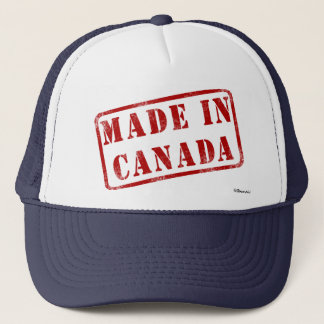 Made in Canada Trucker Hat