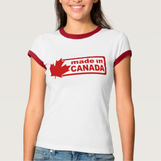 Made In Canada - White Womens Shirt
