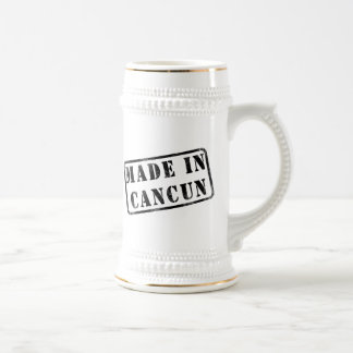 Made in Cancun Beer Stein