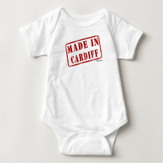 Made in Cardiff Baby Bodysuit