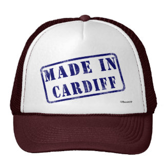 Made in Cardiff Trucker Hat