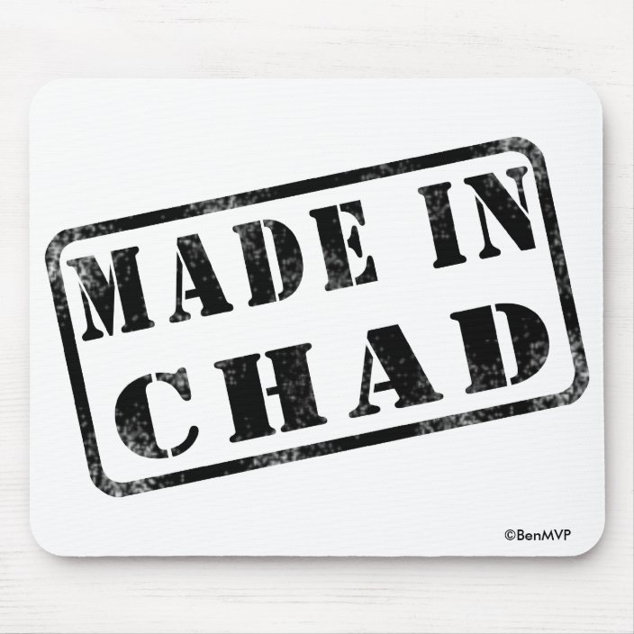 Made in Chad Mousepad