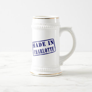 Made in Charlotte Beer Stein