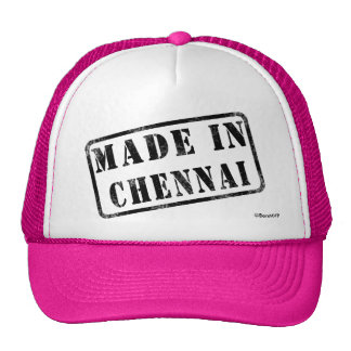 Made in Chennai Mesh Hats