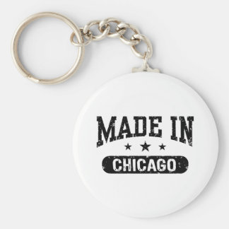 Made in Chicago Keychain