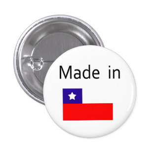 Made in Chile Button
