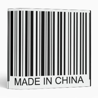 Made in China Binder