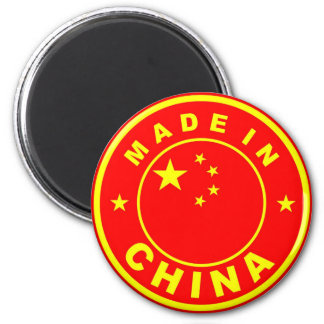 made in china country flag label stamp 2 inch round magnet