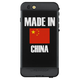 Made In China Flag LifeProof NÜÜD iPhone 6s Plus Case