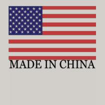 china flag in amercai