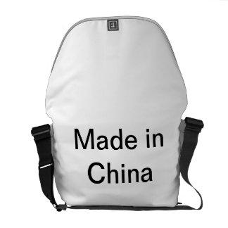 Made in China Messenger Bag