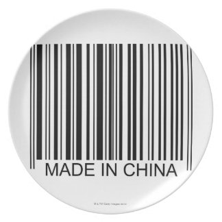 Made in China Plate