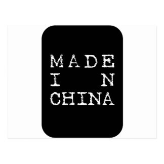 made in china postcard