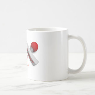 Made in China Stamp or Chop on Paper Concept in 3d Coffee Mug