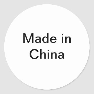 Made in China Sticker