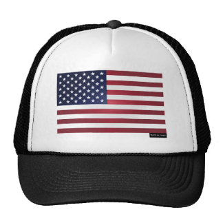 Made in China - US Flag Trucker Hat
