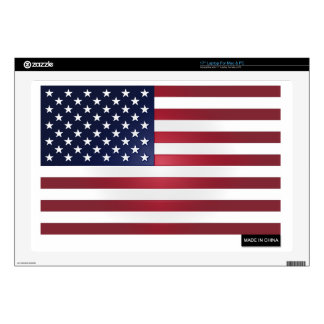 Made in China - US Flag Laptop Decals