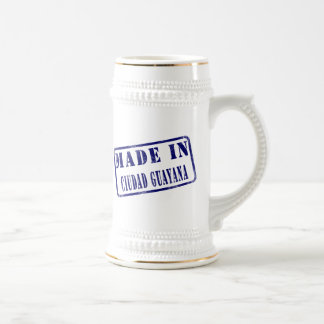 Made in Ciudad Guayana Coffee Mugs