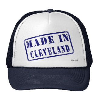 Made in Cleveland Trucker Hat