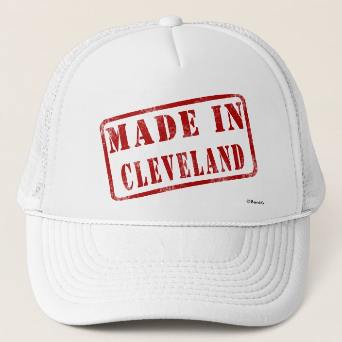 Made in Cleveland Hat